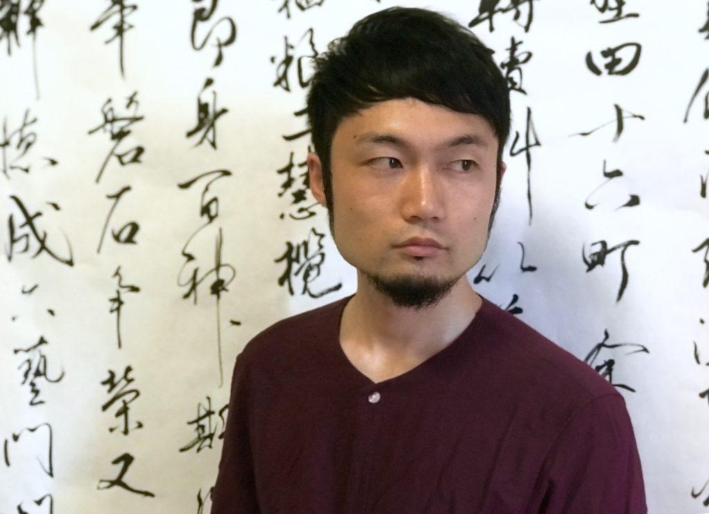 広島の書道家陣内雅文のプロフィール画像